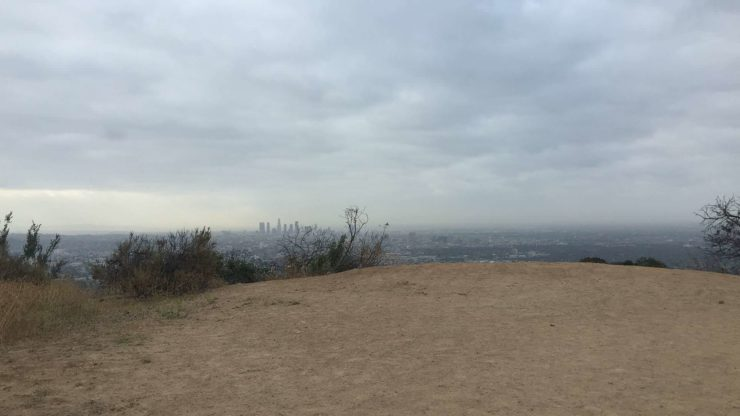 View Of Sky From Runyon Canyon Park