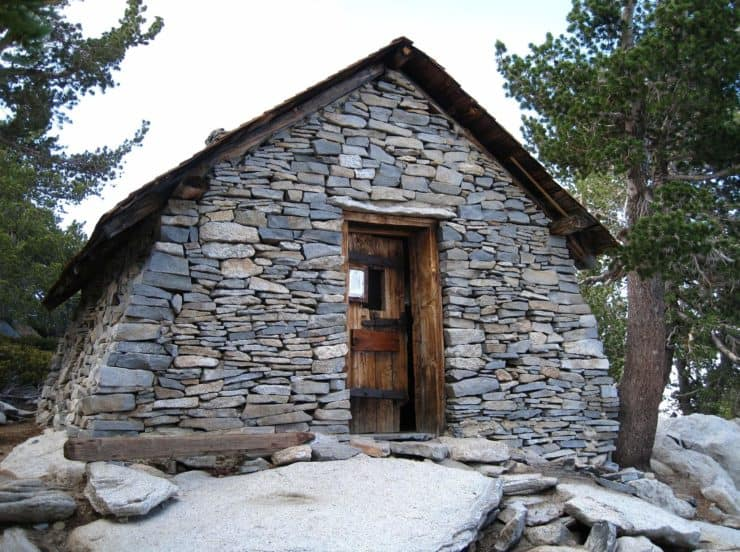 Hut On Mount San Jacinto