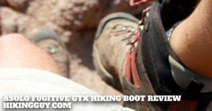 Asolo Fugitive GTX Hiking Boot Review