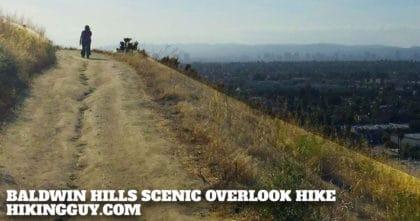Baldwin Hills Scenic Overlook Hike
