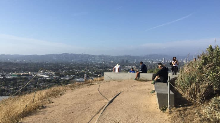 Baldwin Hills Scenic Overlook hike views