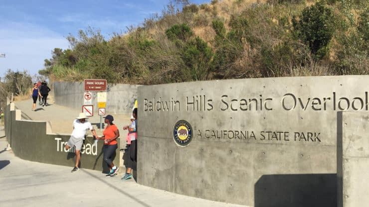 Baldwin Hills Scenic Overlook trailhead