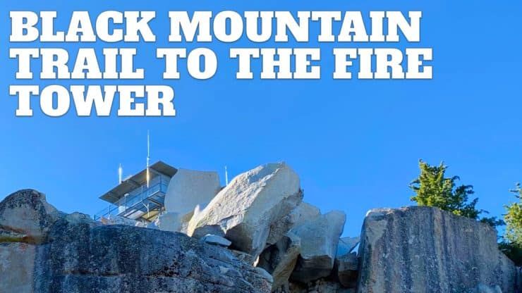 Black Mountain Trail to the Fire Lookout (Idyllwild, CA)