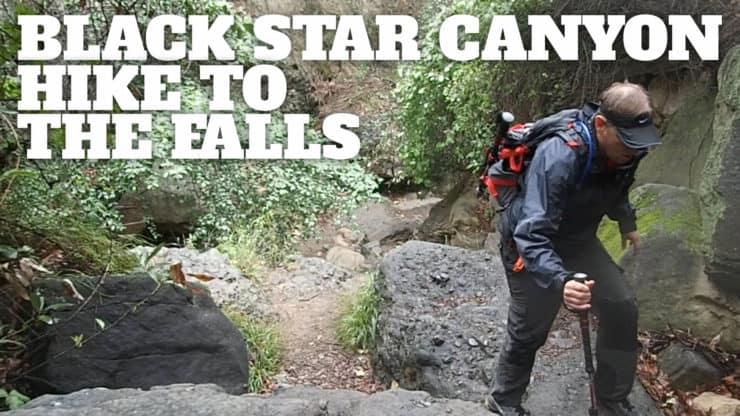 Hike Black Star Canyon Trail