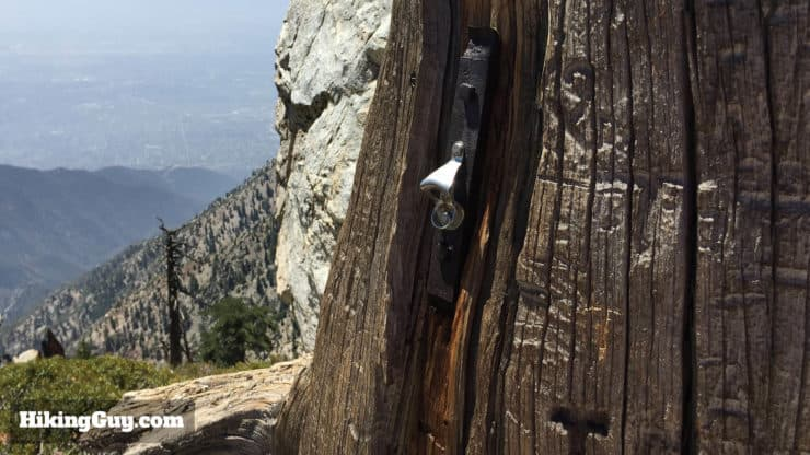 bottle opener on ontario peak