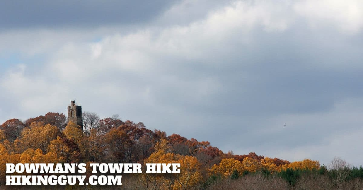 Washington Crossing State Park Hike to Bowmans Tower