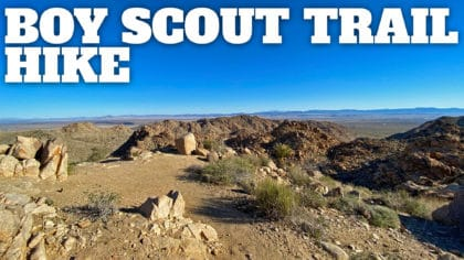 Boy Scout Trail (Joshua Tree) Hike