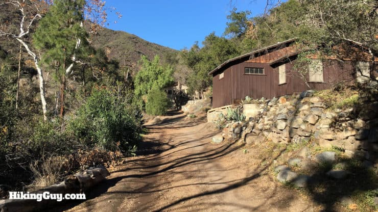 cabins on holy jim trail