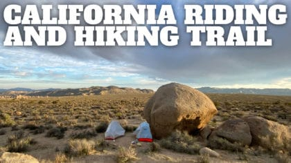 California Riding and Hiking Trail (Joshua Tree)