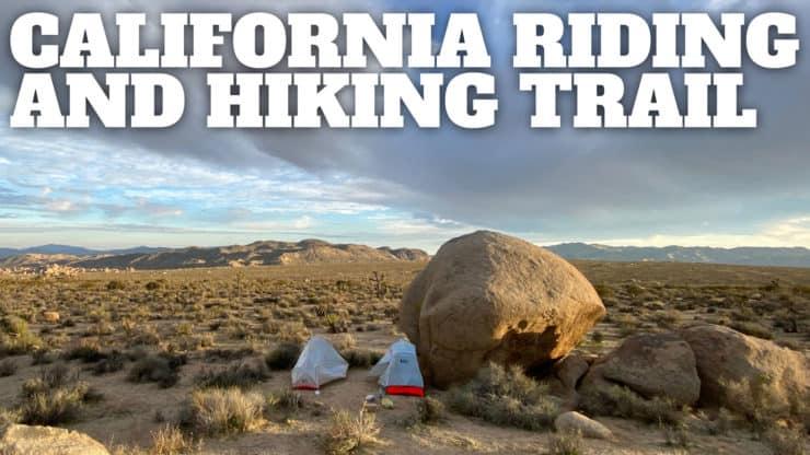 California Riding and Hiking Trail (Joshua Tree)