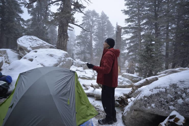 Camping San Jacinto