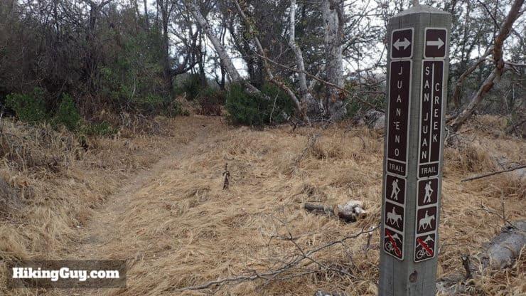 Juaneno Trail marker