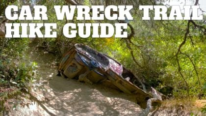 Car Wreck Trail (Laguna Beach)