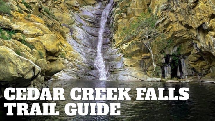 Cedar Creek Falls Trail Guide