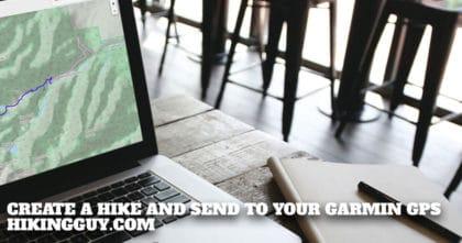 Creating a Hike For Garmin GPS
