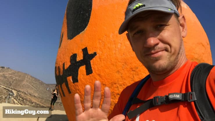 cris hazzard at pumpkin rock