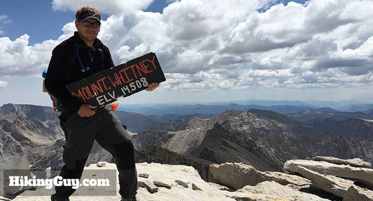 cris hazzard on mt whitney