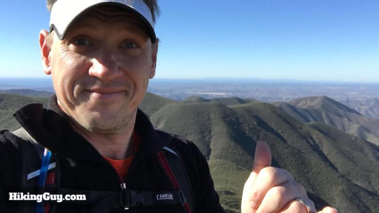 cris hazzard on sitton peak hike