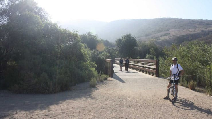 Crystal Cove Hike bridge