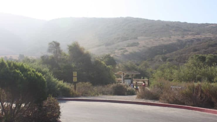Crystal Cove Hike parking