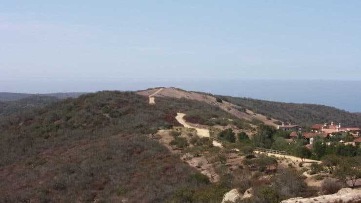 Crystal Cove Hike trail
