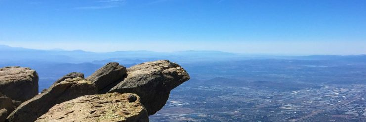 Cucamonga Peak Hike summit