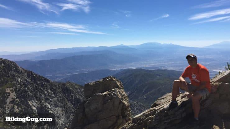 Cucamonga Peak Hike views