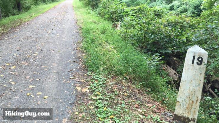 Delaware and Raritan Canal trail