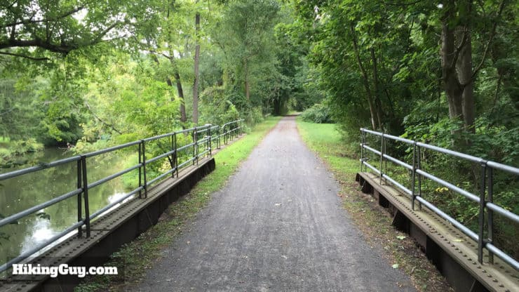 Delaware and Raritan Canal trail