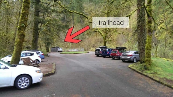 Eagle Creek trailhead