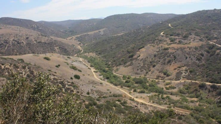 El Moro Canyon Trail