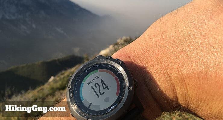 fenix 3 heart rate display