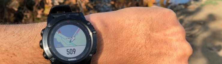Fenix 5x Hiking Review