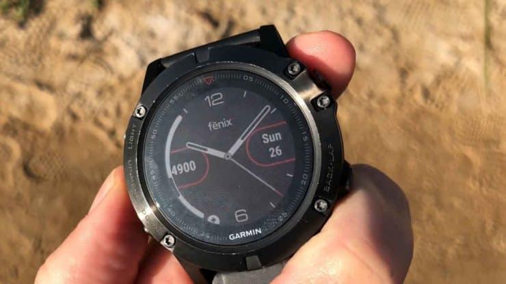 Fenix 5x Watch Face