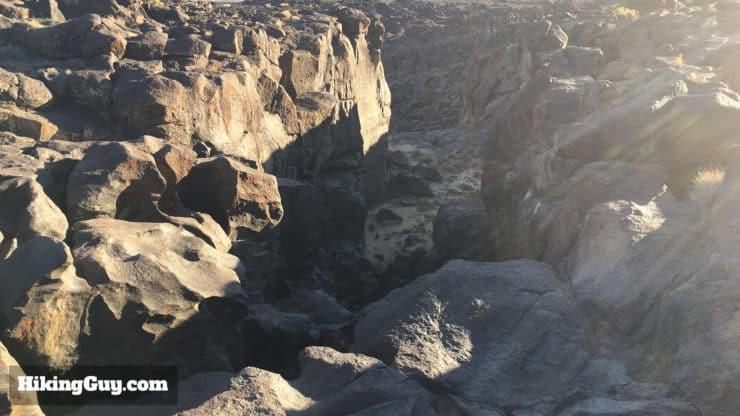 Fossil Falls Hike