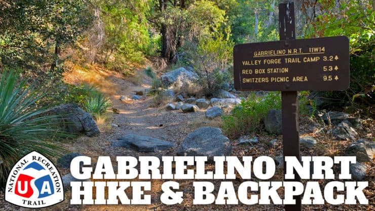 Gabrielino Trail (NRT) Guide