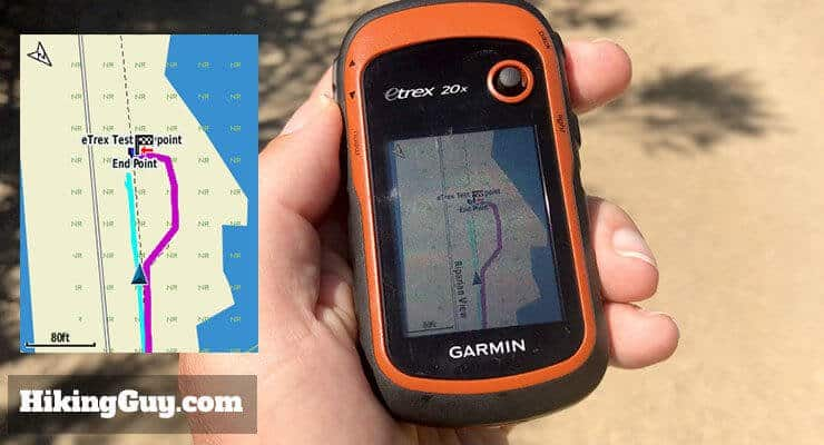 Garmin eTrex 20x Hiking GPS Review (2019) - HikingGuy com