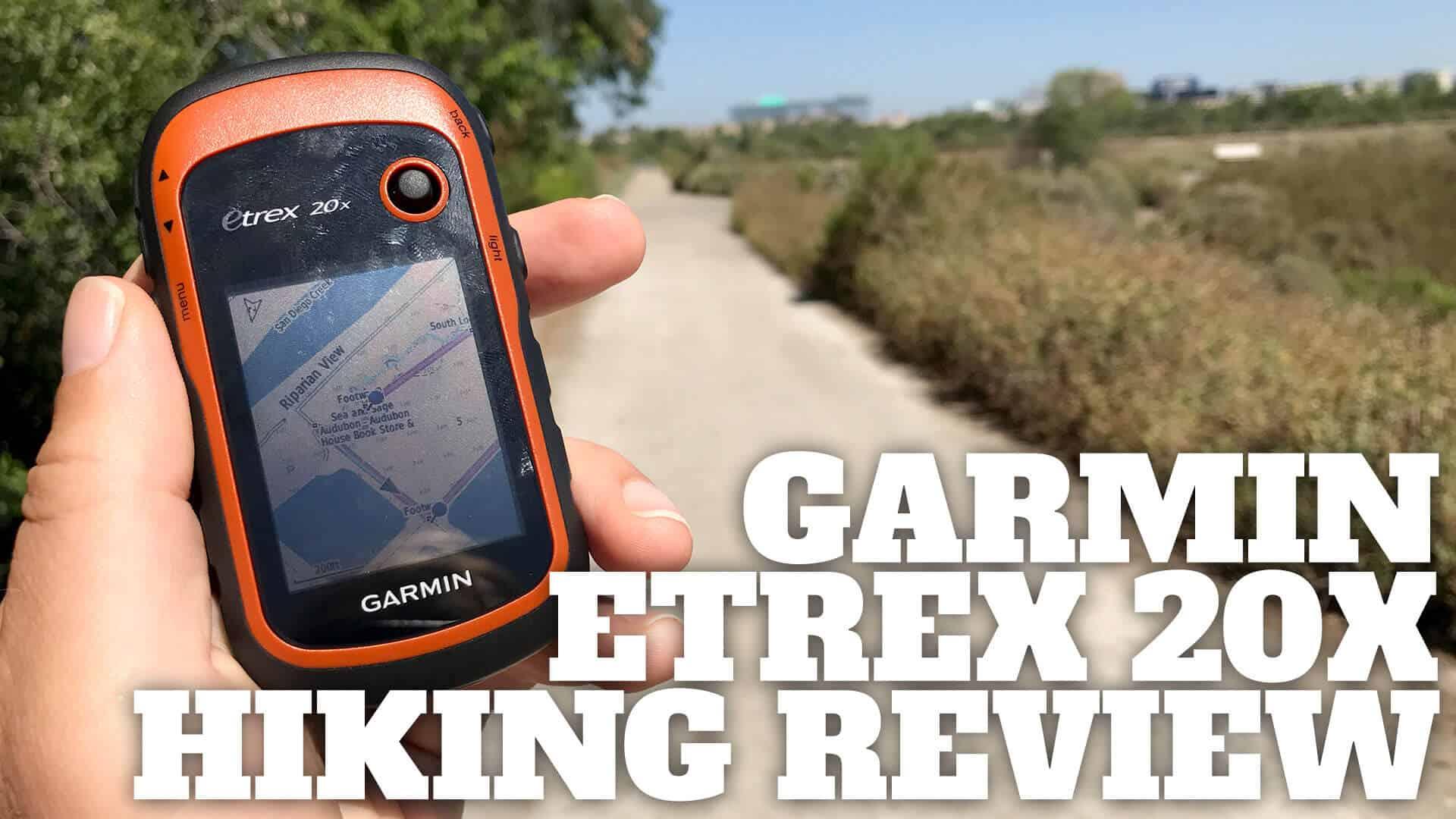 Garmin eTrex 20x and case bundle