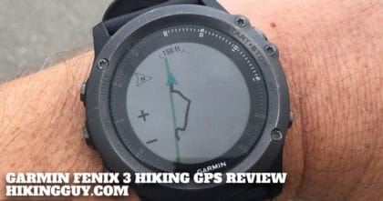 Garmin Fenix 3 Hiking GPS Review