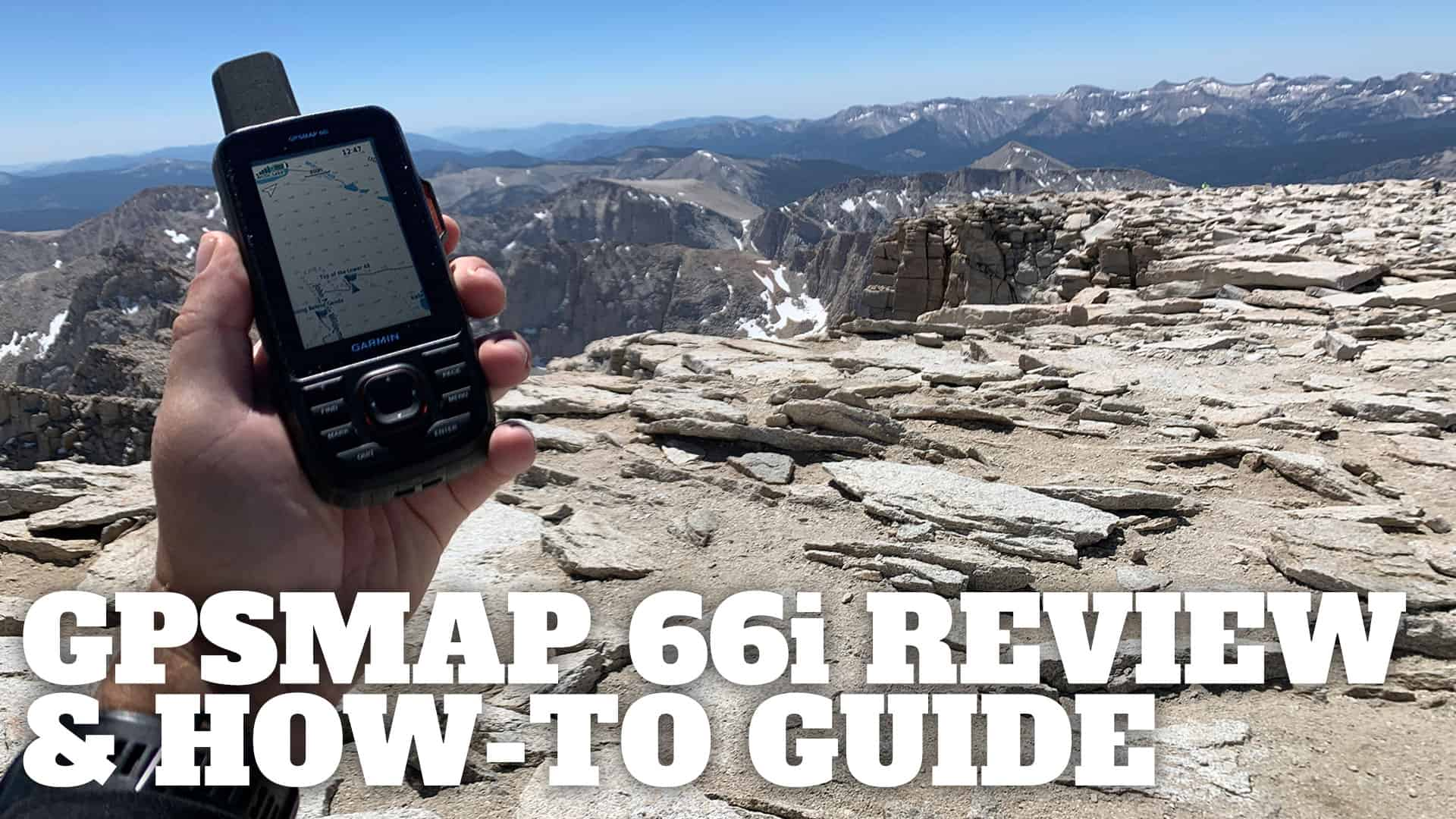 In-Depth Garmin GPSMAP 66i Review & How-To Guide