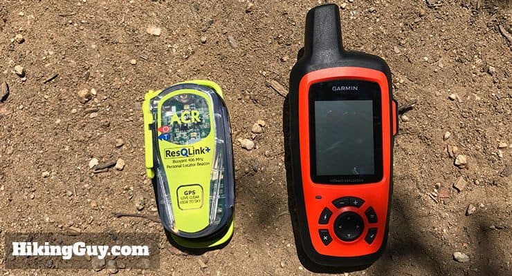 garmin inreach and acr resqlink