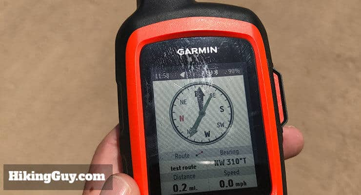 garmin inreach review routing