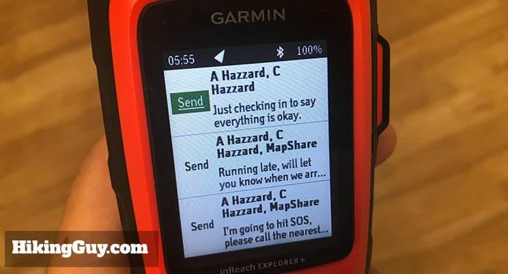 In-Depth Garmin Inreach Explorer Review (2019) - HikingGuy com