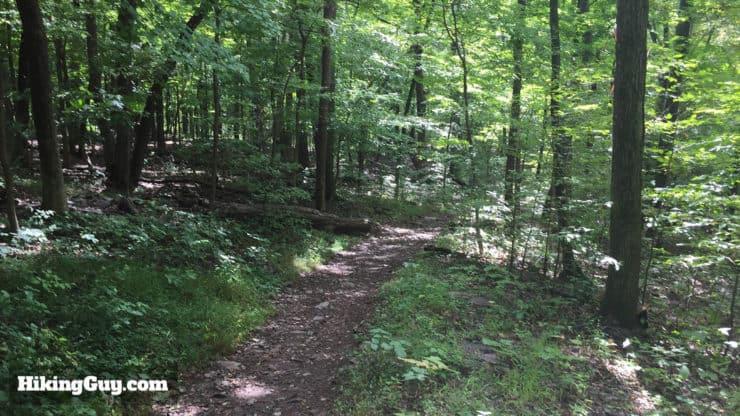 high rocks hike trail