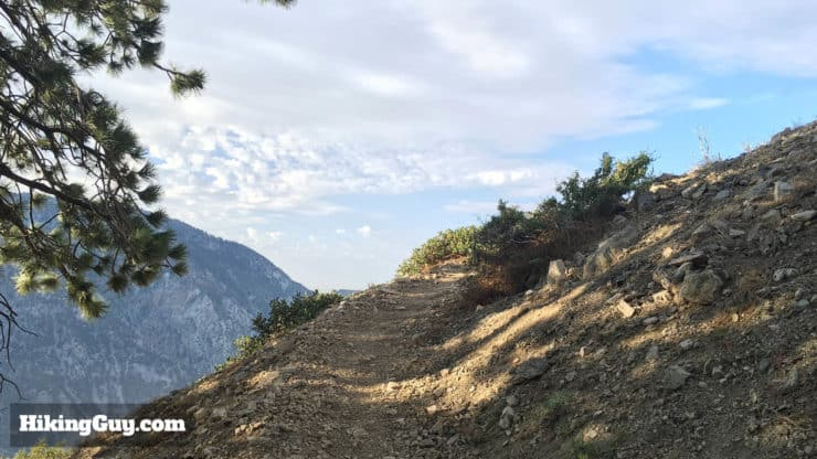 bear canyon trail to mt baldy
