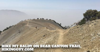 Hike Mt Baldy on the Bear Canyon Trail