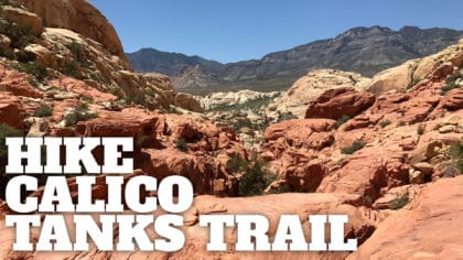 Calico Tanks Trail at Red Rock Canyon