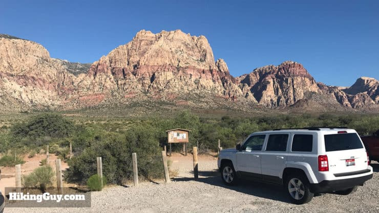 First Creek Canyon Trailhead