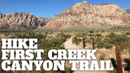 Hike First Creek Canyon Trail