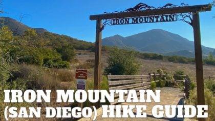Hike Iron Mountain (San Diego)